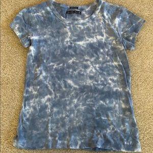 Abercrombie tie dye shirt